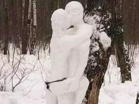 下雪幽默句子