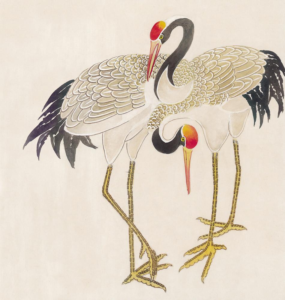 白鹤的另一条腿