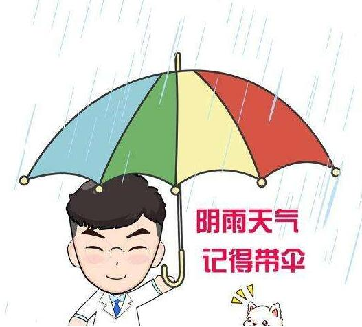 雨伞几岁了