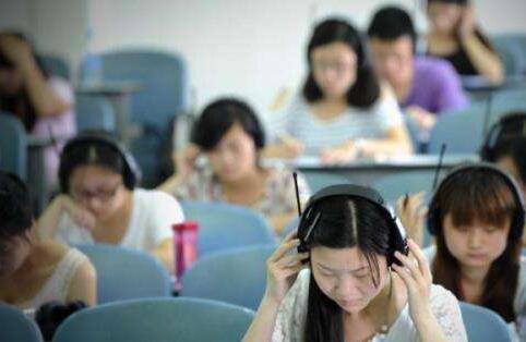 校园笑话 英语听力考试
